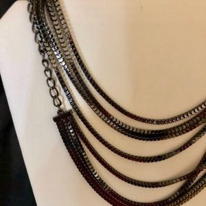 Jewelry - New Long Hematite Toned Necklace